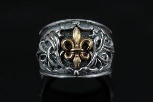 Agatho Oxidized Silver Casual Everyday Ring MR-053
