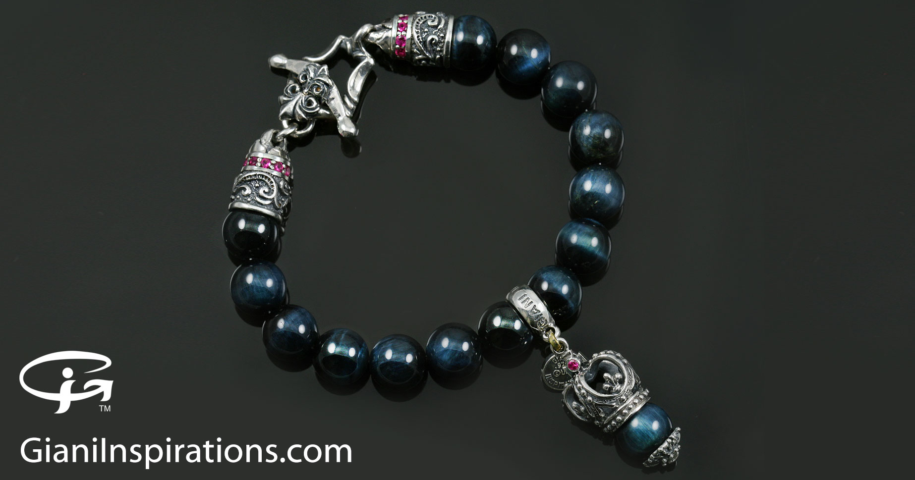 bracelet com bead lazuli lapis shop with freshpickedjewels lotus