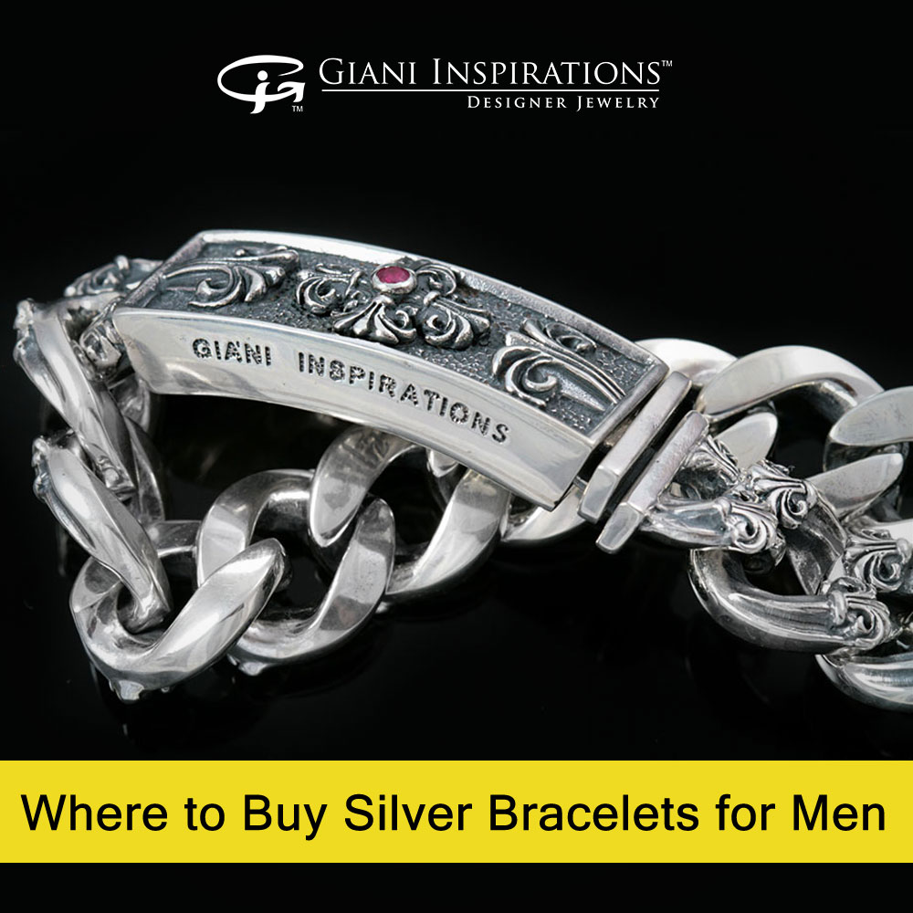 Where to Buy Silver Bracelets for Men