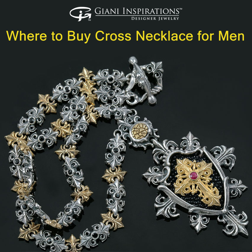 Where to Buy Cross Necklace for Men
