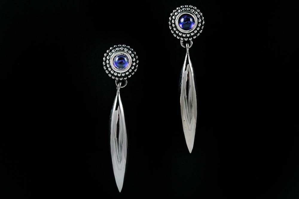 Eclipse Gothic Spike Drop Earrings ER-004