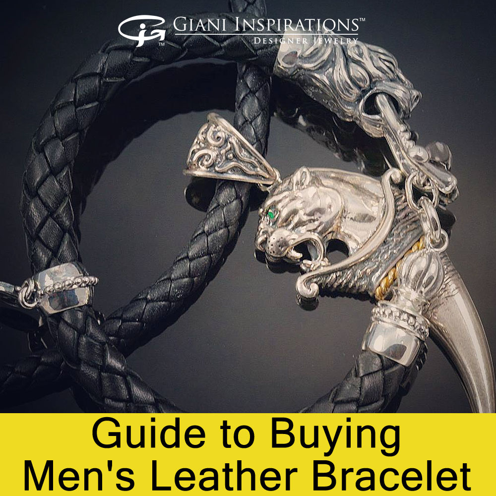 Guide to Buying Men's Leather Bracelet