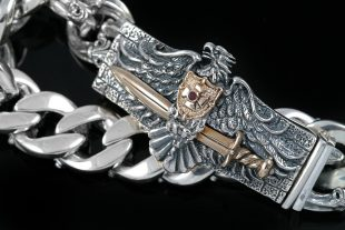 Livonian Brothers of the Sword Silver Bracelet BR-002