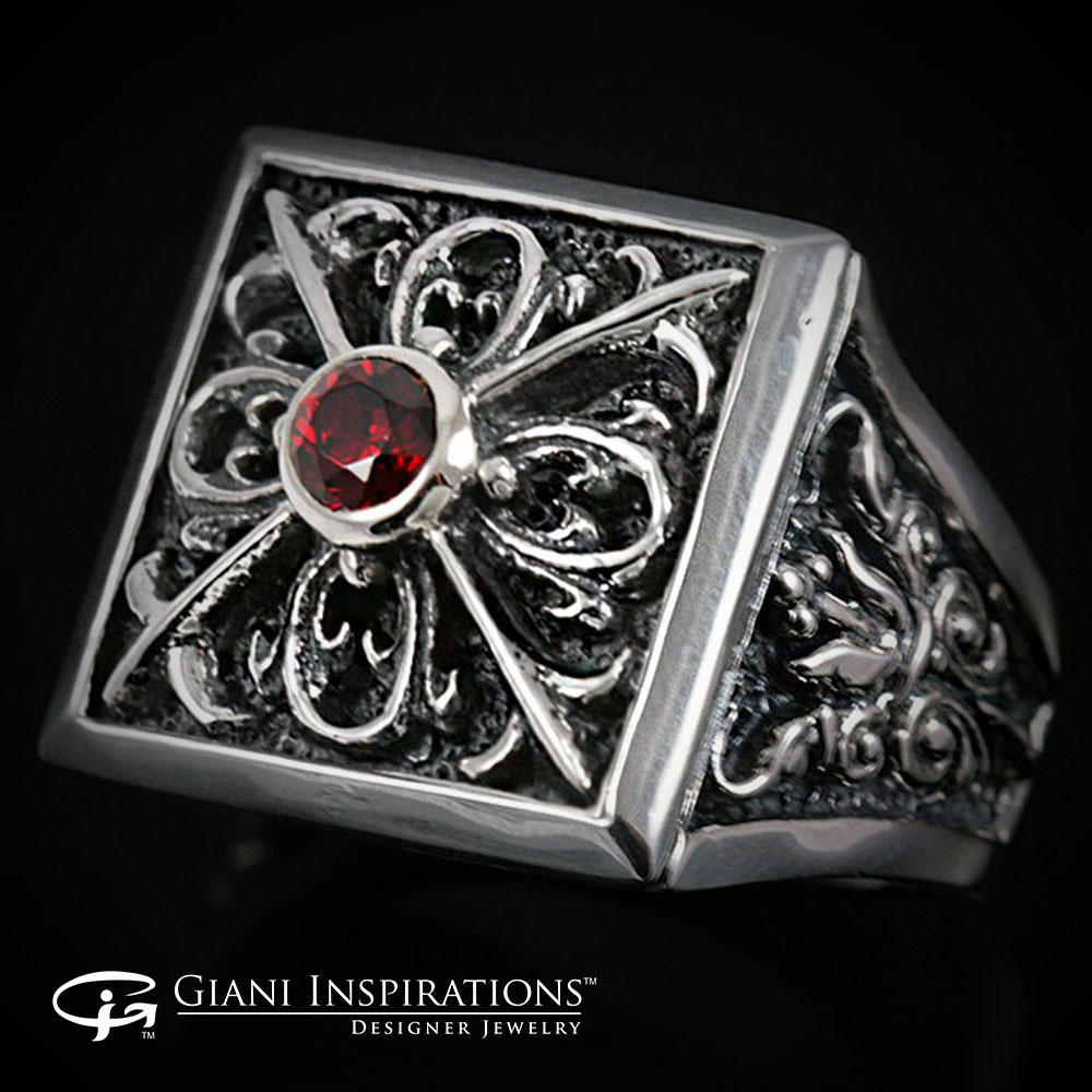 Gothic Silver Rings