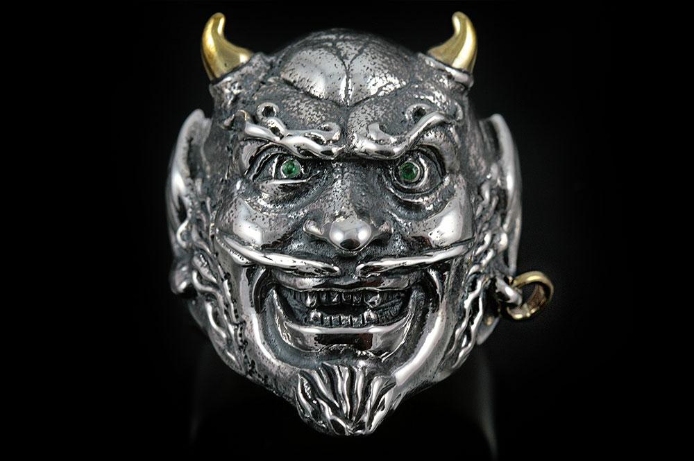 Mephisto Demon Silver Ring MR-002