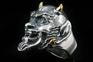 Mephisto Demon Silver Ring MR-002