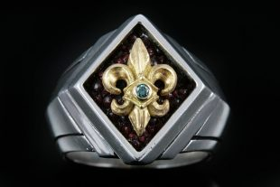 Pius Gold Sterling Silver Ring Mr 026g