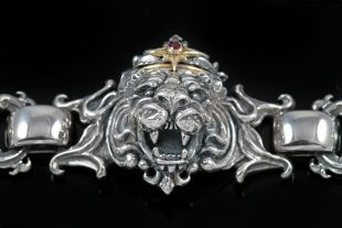 Richard The Lionheart Silver Bracelet BR-006