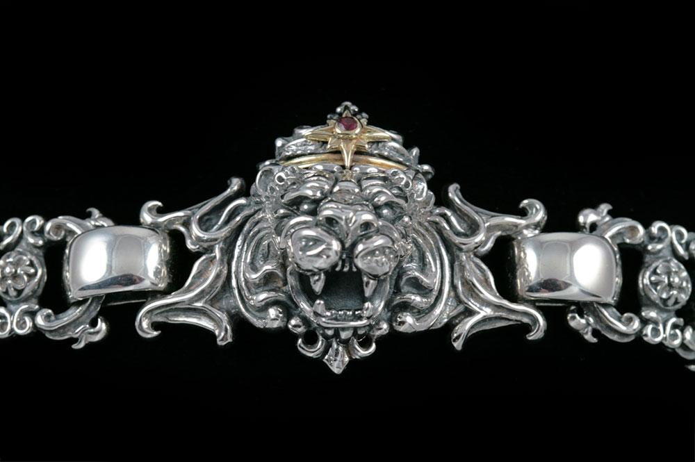 Richard The Lionheart Silver Bracelet BR-006