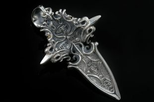 Richard The Lionheart Silver Pendant PT-152