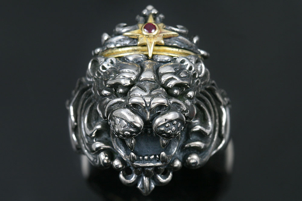 Richard The Lionheart Silver Ring MR-031