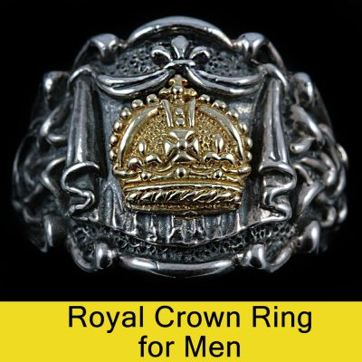 Royal Crown Ring for Men