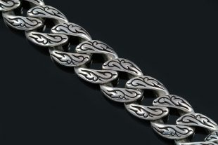 Spartan Historic Symbolic Luxurious Silver Bracelet BR-007