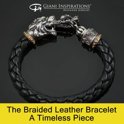 The Braided Leather Bracelet: A Timeless Piece