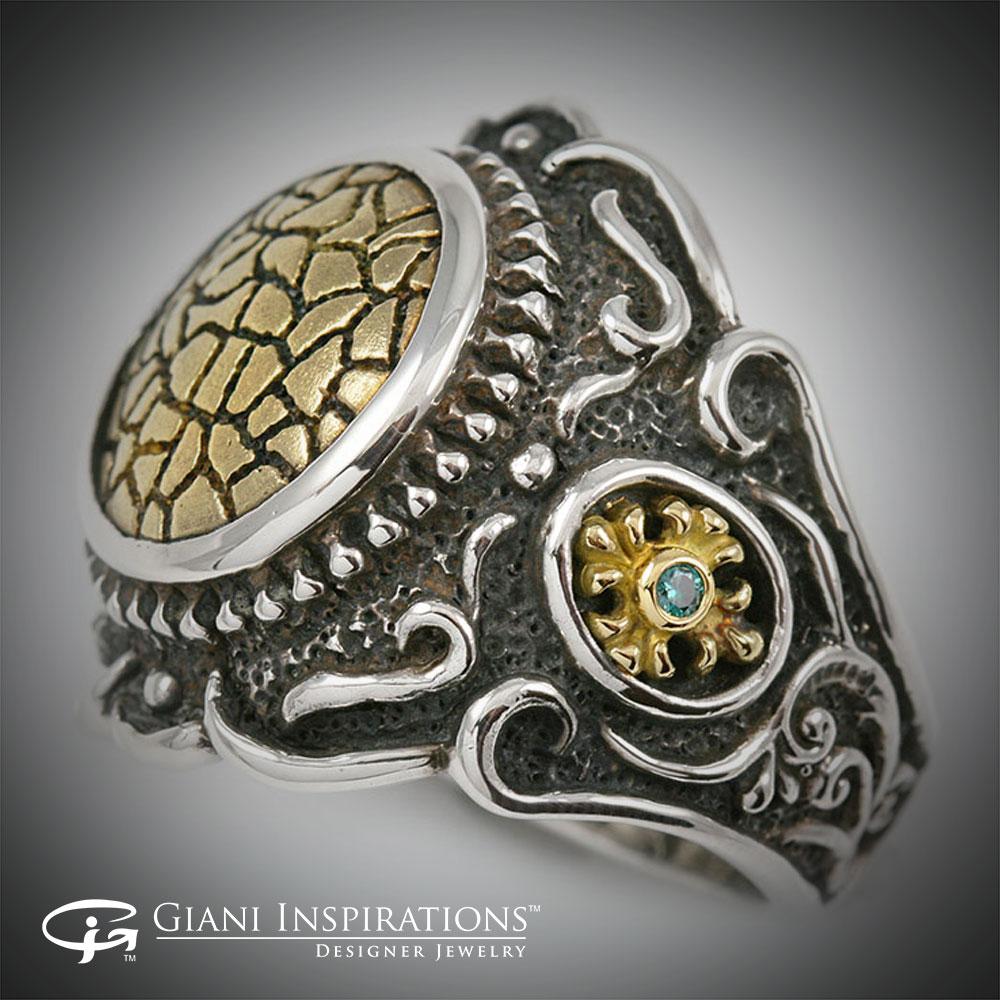 Unique Silver Rings For Men